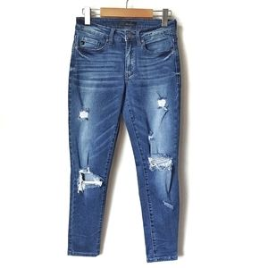 KanCan Skinny Ripped Jeans 26